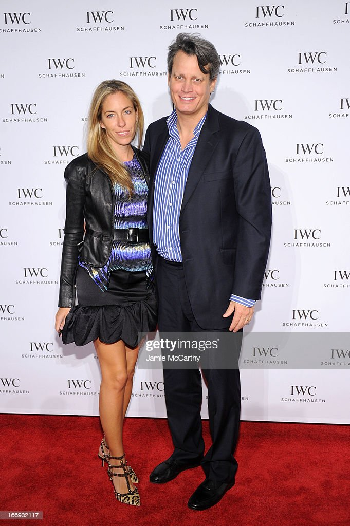 Nicole Mellon and Mathew Mellon attend IWC and Tribeca Film Festival Celebrate 'For the Love of Cinema' on April 18, 2013 in New York City.