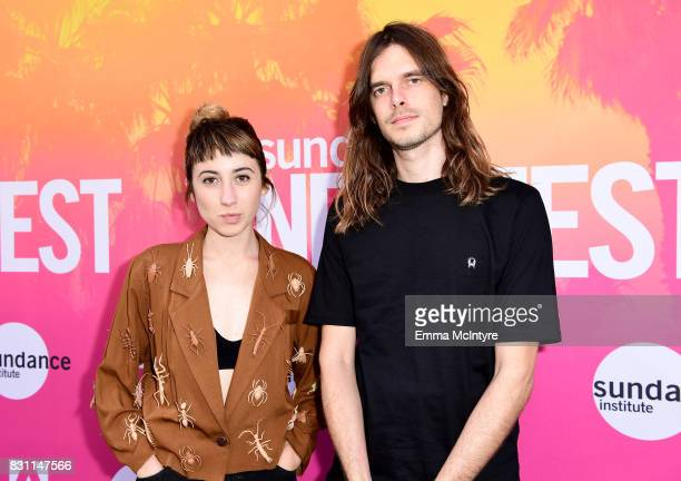 Nicole Miglis and Trayer Tryon of Hundred Waters attend 2017 Sundance NEXT FEST at The Theater at The Ace Hotel on August 13 2017 in Los Angeles...