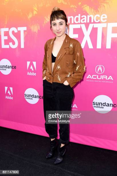 Nicole Miglis of Hundred Waters attends 2017 Sundance NEXT FEST at The Theater at The Ace Hotel on August 13 2017 in Los Angeles California