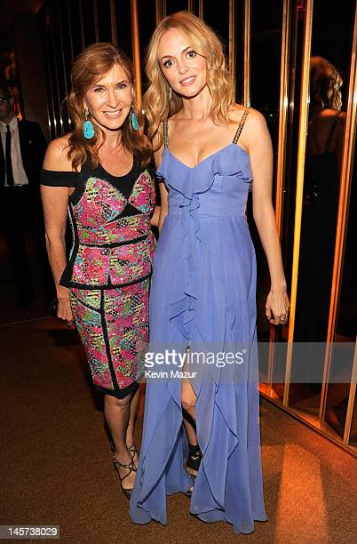 Nicole Miller and Heather Graham attend 2012 CFDA Fashion Awards Offical After Party at Boom Boom Room on June 4 2012 in New York City