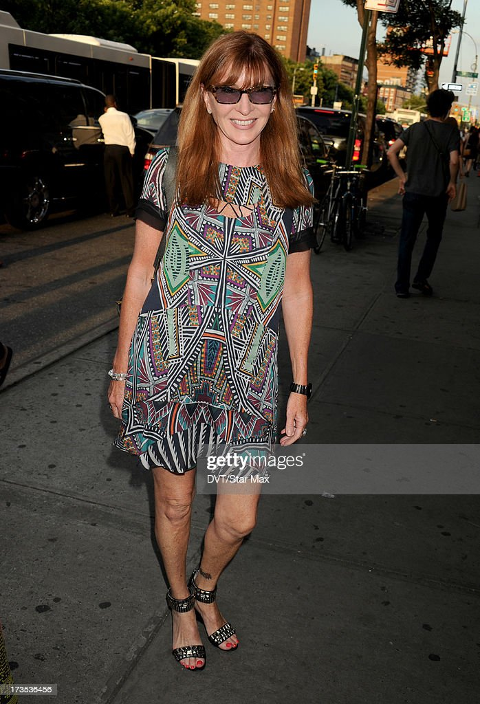 Nicole Miller as seen on July 15, 2013 in New York City.