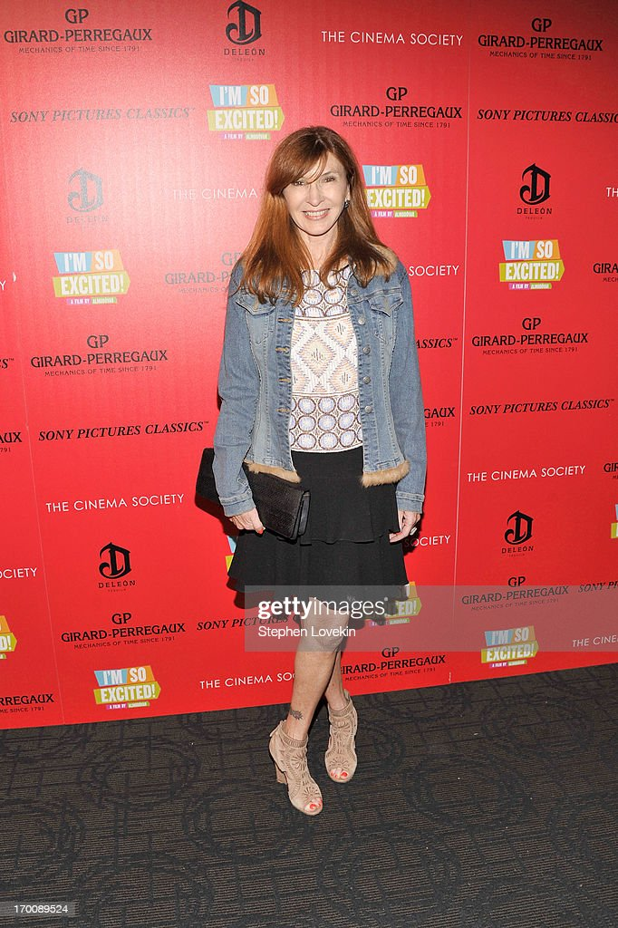Nicole Miller attends Girard-Perregaux And The Cinema Society With DeLeon Host a Screening Of Sony Pictures Classics' 'I'm So Excited' at Sunshine Landmark on June 6, 2013 in New York City.