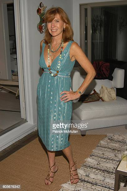 Nicole Miller attends Party to Celebrate the Upcoming Marriage of Pamela Taylor and Eames Yates Hosted by Tatiana and Campion Platt at The Platt...