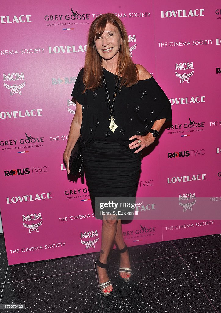 Nicole Miller attends The Cinema Society and MCM with Grey Goose screening of Radius TWC's 'Lovelace' at Museum of Modern Art on July 30, 2013 in New York City.