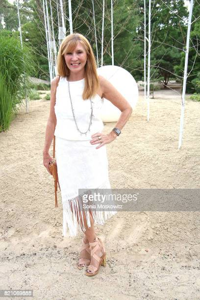Nicole Miller attends the Cosmic LongHouse Benefit at LongHouse Reserve on July 22 2017 in East Hampton New York