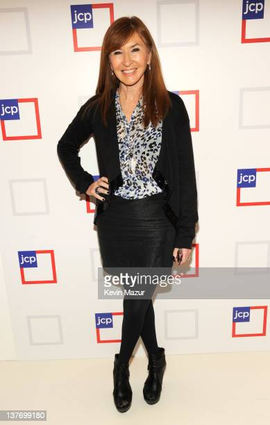 Nicole Miller attends the jcpenney launch event at Pier 57 on January 25 2012 in New York City