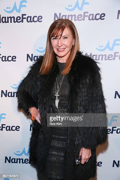 Nicole Miller attends the launch party for NameFacecom at No 8 on January 27 2016 in New York City