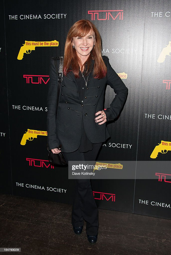 Nicole Miller attends The Weinstein Company With The Cinema Society And Tumi Host A Screening Of 'This Must Be the Place' at Tribeca Grand Hotel on October 25, 2012 in New York City.