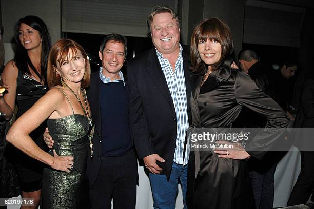Nicole Miller Jay Snyder Eames Yates and Pam Taylor attend THE CINEMA SOCIETY NICOLE MILLER host the after party for 'THE LIFE BEFORE HER EYES' at...