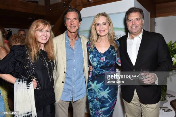 Nicole Miller Kim Taipale Linda Argila and guest attend ARTrageous Gala Art Auction benefitting Hour Children at a Private Residence on August 18...