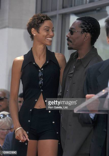 Nicole Mitchell Murphy and Eddie Murphy during Eddie Murphy Honored with a Star on the Hollywood Walk of Fame at Hollywood Walk of Fame in Hollywood...