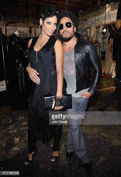 Nicole Mitchell Murphy and Lenny Kravitz attend Church Boutique and Sama Eyewear celebration 'Shades Bubbles And Baubles' for Loree Rodkin's birthday...