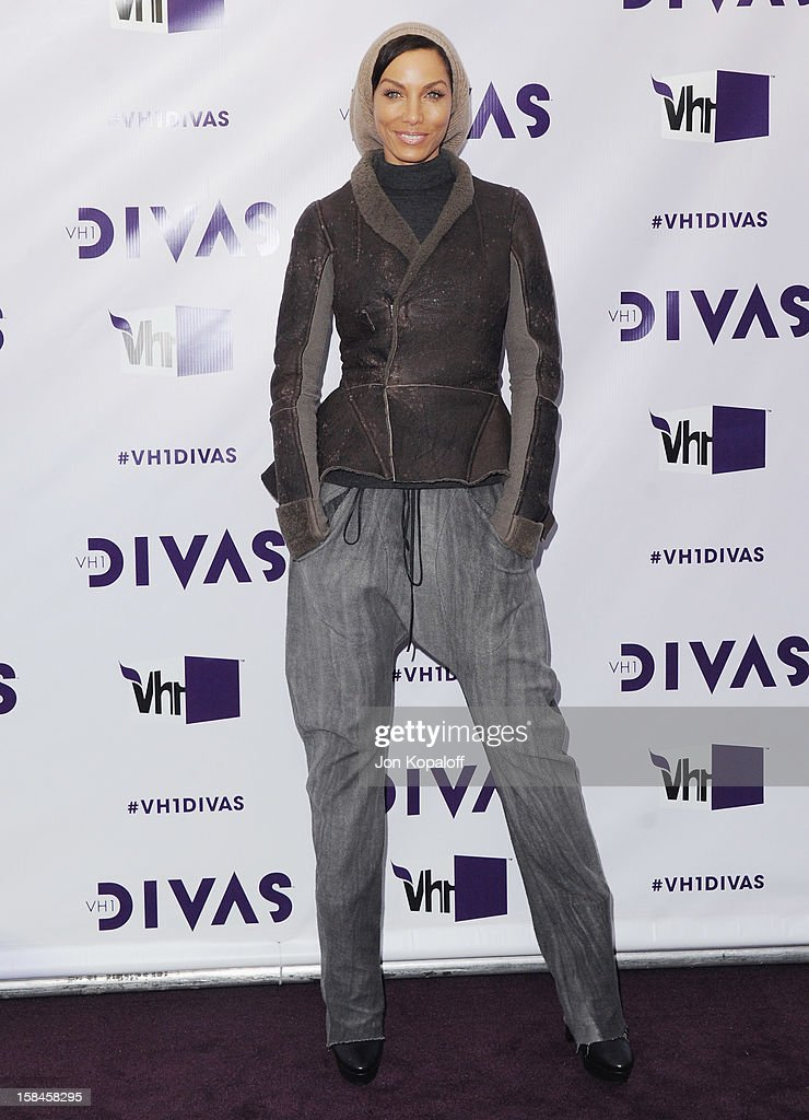 Nicole Mitchell Murphy arrives at the 'VH1 Divas' 2012 at The Shrine Auditorium on December 16, 2012 in Los Angeles, California.