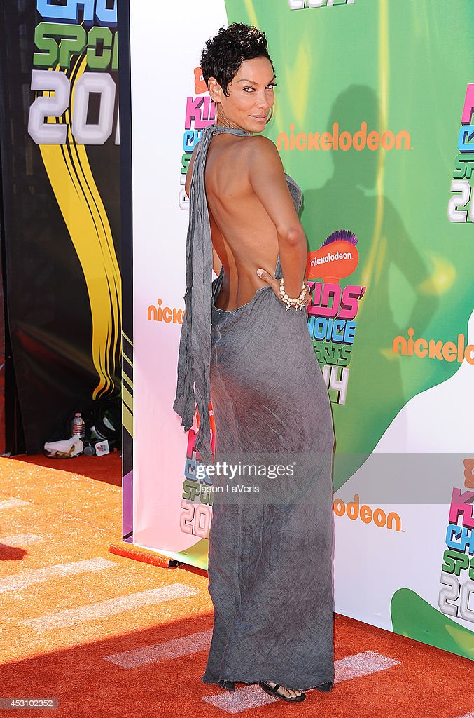 <a gi-track='captionPersonalityLinkClicked' href=/galleries/search?phrase=Nicole+Mitchell&family=editorial&specificpeople=243237 ng-click='$event.stopPropagation()'>Nicole Mitchell</a> Murphy attends the 2014 Nickelodeon Kids' Choice Sports Awards at Pauley Pavilion on July 17, 2014 in Los Angeles, California.