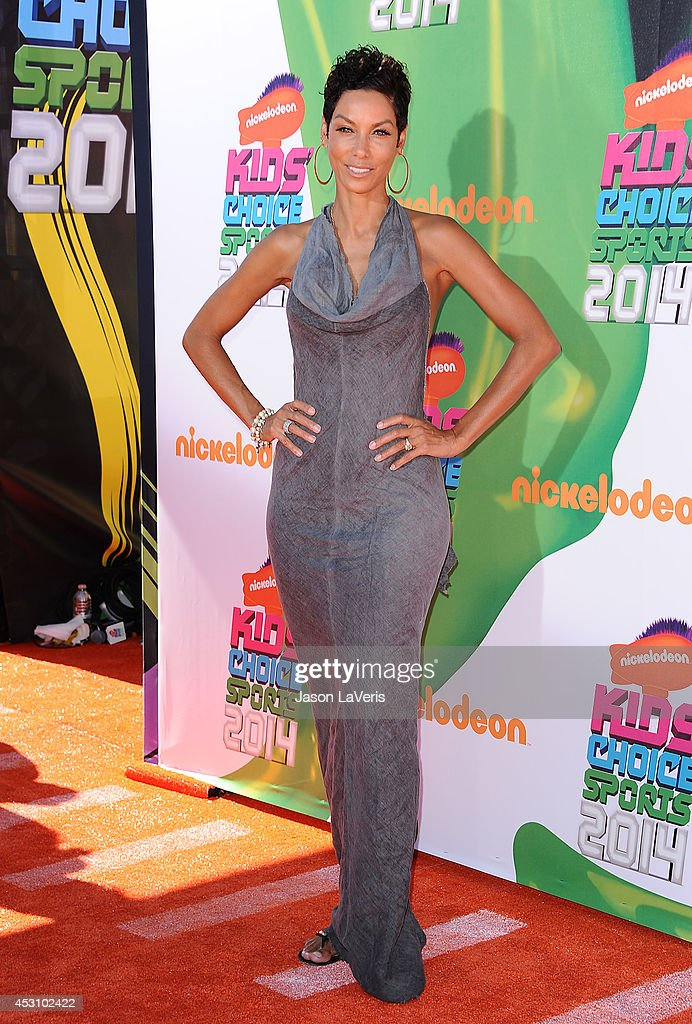Nicole Mitchell Murphy attends the 2014 Nickelodeon Kids' Choice Sports Awards at Pauley Pavilion on July 17, 2014 in Los Angeles, California.