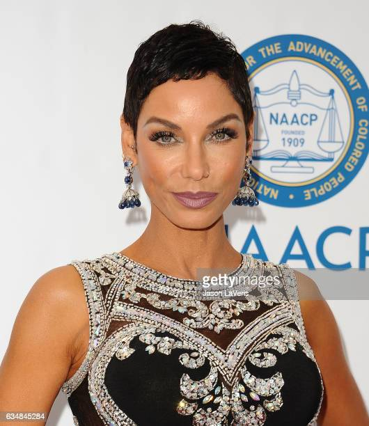 Nicole Mitchell Murphy attends the 48th NAACP Image Awards at Pasadena Civic Auditorium on February 11 2017 in Pasadena California