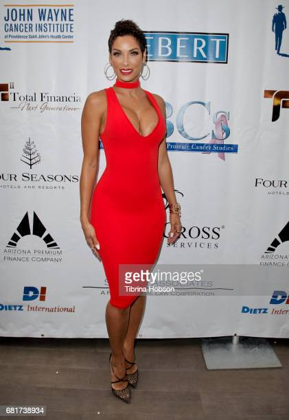 Nicole Mitchell Murphy attends The Associates for Breast and Prostate Cancer Studies annual Mother's Day Luncheon at Four Seasons Hotel Los Angeles...