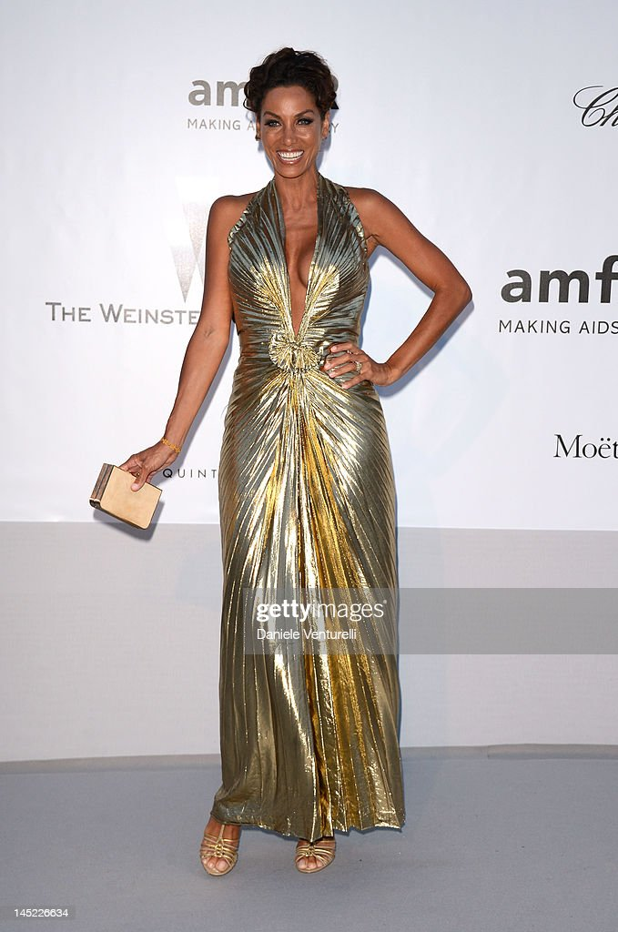 Nicole Murphy arrives at 2012 amfAR's Cinema Against AIDS during the 65th Annual Cannes Film Festival at Hotel Du Cap on May 24, 2012 in Cap D'Antibes, France.