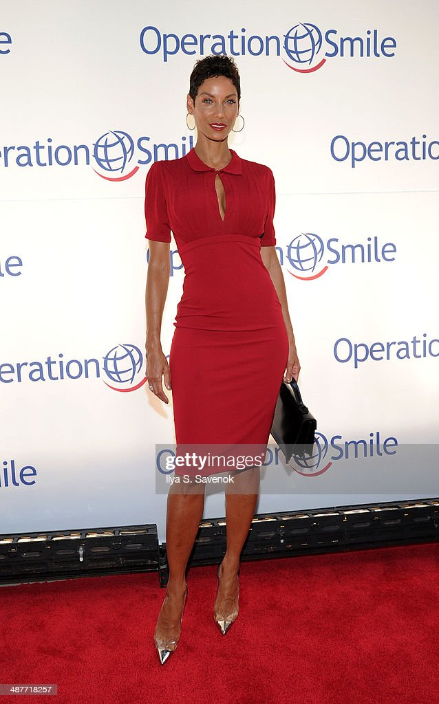 Nicole Murphy attends Operation Smile's Smile Event at Cipriani Wall Street on May 1, 2014 in New York City.