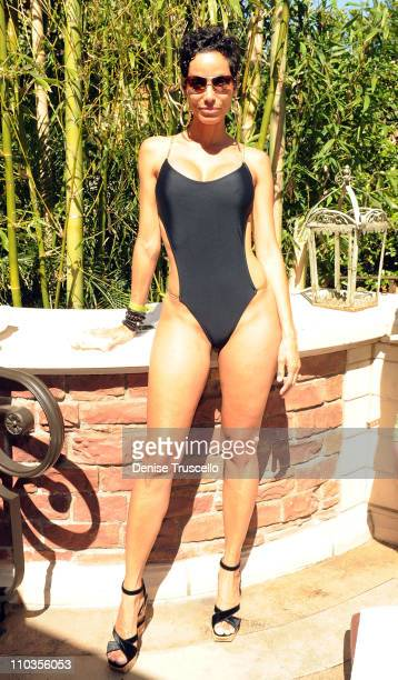 Nicole Murphy attends TAO Beach at the Venetian on May 1 2010 in Las Vegas Nevada