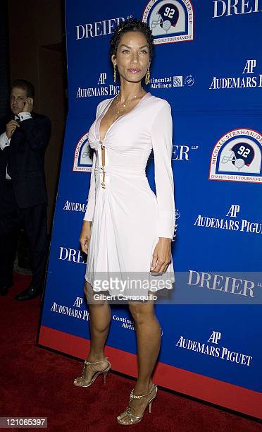 Nicole Murphy attends the 2008 Michael Strahan and Dreier LLP Charity Golf Tournament preparty to benefit Children's Rights and Keep A Child Alive at...