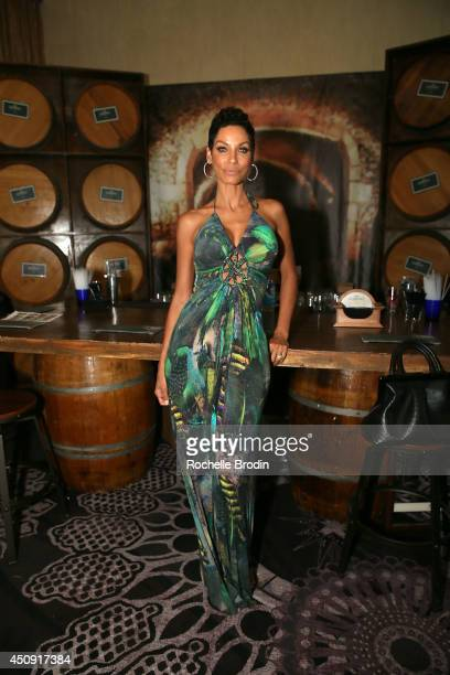 Nicole Murphy attends the Absolut ELYX And The Glenlivet Lounge At The Critics Choice Television Awards at The Beverly Hilton Hotel on June 19 2014...