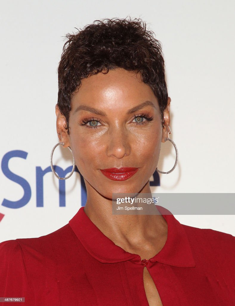 Nicole Murphy attends the Operation Smile's Smile Event at Cipriani Wall Street on May 1, 2014 in New York City.
