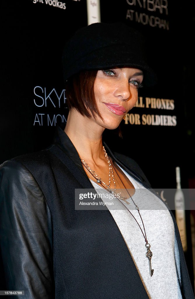 Nicole Murphy attends Voli Light Vodka's Holiday Party hosted by Fergie Benefiting Cellphones for Soldiers at SkyBar at the Mondrian Los Angeles on December 6, 2012 in West Hollywood, California.