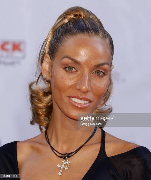 Nicole Murphy during 6th Annual MercedesBenz DesignCure at Home of Sugar Ray and Bernadette Leonard in Pacific Palisades California United States