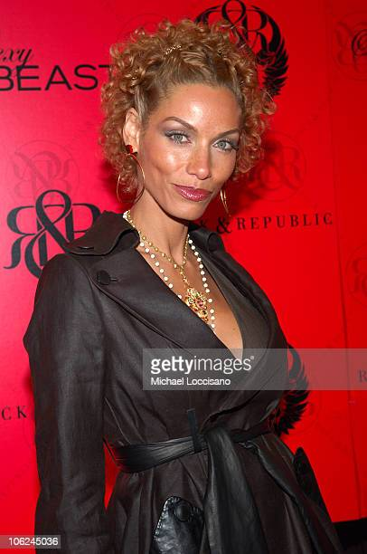 Nicole Murphy during MercedesBenz Fashion Week Fall 2007 Rock Republic Arrivals and Front Row at Cipriani in New York City New York United States