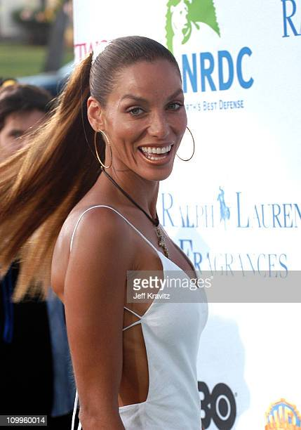 Nicole Murphy during NRDC's Earth To LA The Greatest Show On Earth Arrivals at Wadsworth Theater in Los Angeles California United States