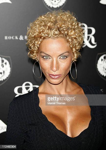 Nicole Murphy during Olympus Fashion Week Spring 2007 Rock Republic Red Carpet and Front Row at Cipriani in New York City New York United States