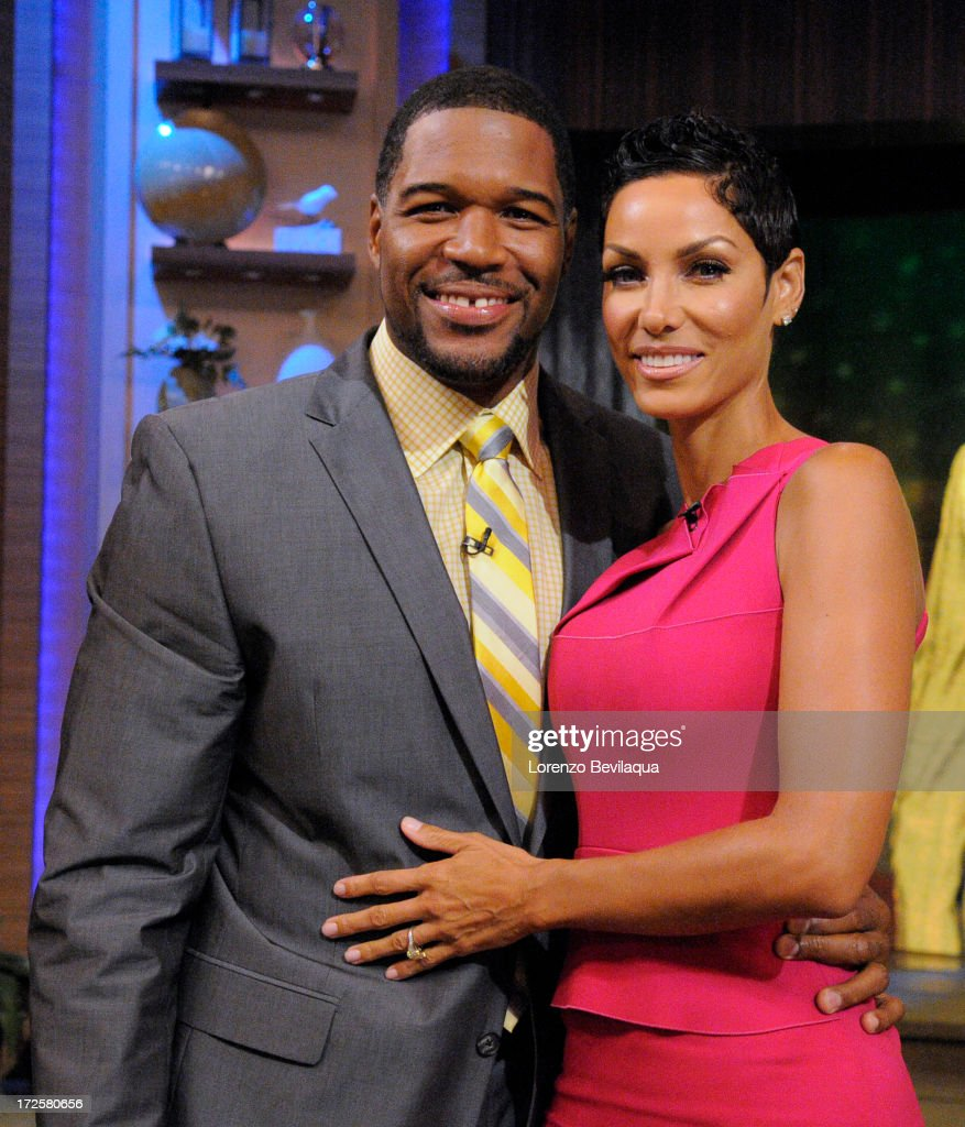 MICHAEL -7/3/13 - Nicole Murphy is a guest on 'LIVE with Kelly and Michael,' distributed by Disney-ABC Domestic Television. STRAHAN