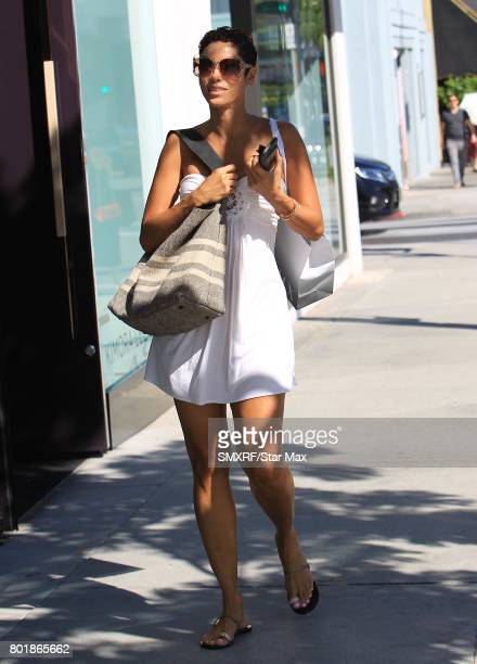 Nicole Murphy is seen on June 26 2017 in Los Angeles California