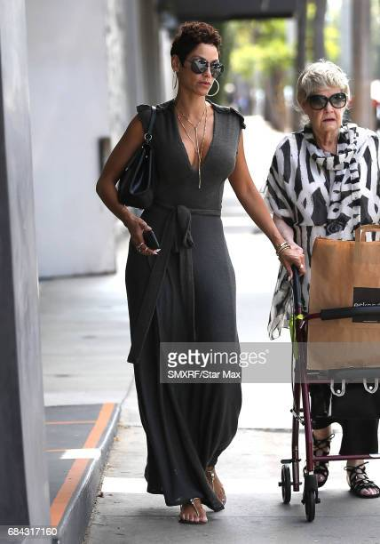 Nicole Murphy is seen on May 17 2017 in Los Angeles California