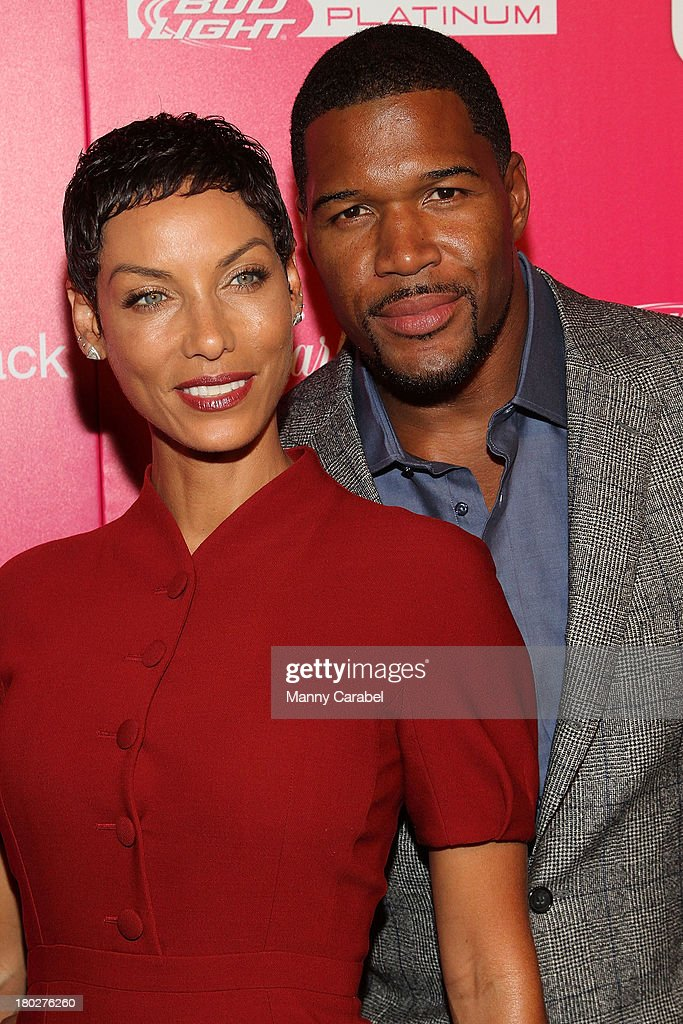 Nicole Murphy & <a gi-track='captionPersonalityLinkClicked' href=/galleries/search?phrase=Michael+Strahan&family=editorial&specificpeople=210563 ng-click='$event.stopPropagation()'>Michael Strahan</a> attend the Us Weekly's Most Stylish New Yorkers Party at Harlow on September 10, 2013 in New York City.