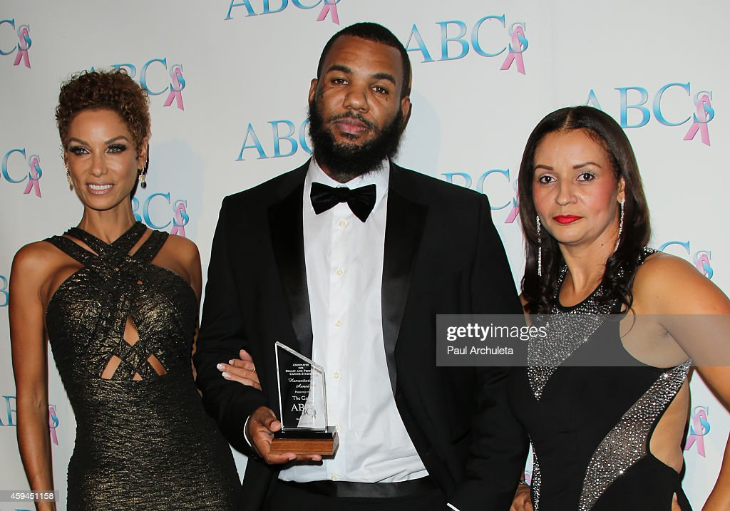 Nicole Murphy, The Game and Lisa Bubbles Brunson attend the 25th annual 'Talk Of The Town' black tie gala at The Beverly Hilton Hotel on November 22, 2014 in Beverly Hills, California.