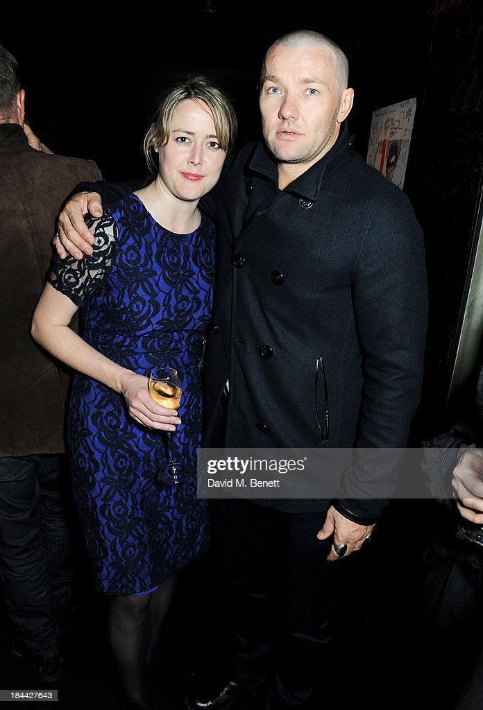Nicole O'Donohue (L) and <a gi-track='captionPersonalityLinkClicked' href=/galleries/search?phrase=Joel+Edgerton&family=editorial&specificpeople=211291 ng-click='$event.stopPropagation()'>Joel Edgerton</a> attend a post-screening party for 'The Last Impresario' during the 57th BFI London Film Festival at The Arts Club on October 13, 2013 in London, England.