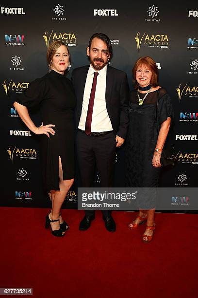 Nicole O'Donohue Ewen Lesley and Jan Chapman arrive ahead of the 6th AACTA Awards Presented by Foxtel | Industry Dinner Presented by Blue Post at The...