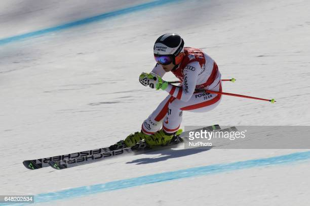 Nicole of Austria action during an AUDI FIS SKI WORLD CUP 2016/17 Jeongseon in Pyeong Chang South Korea