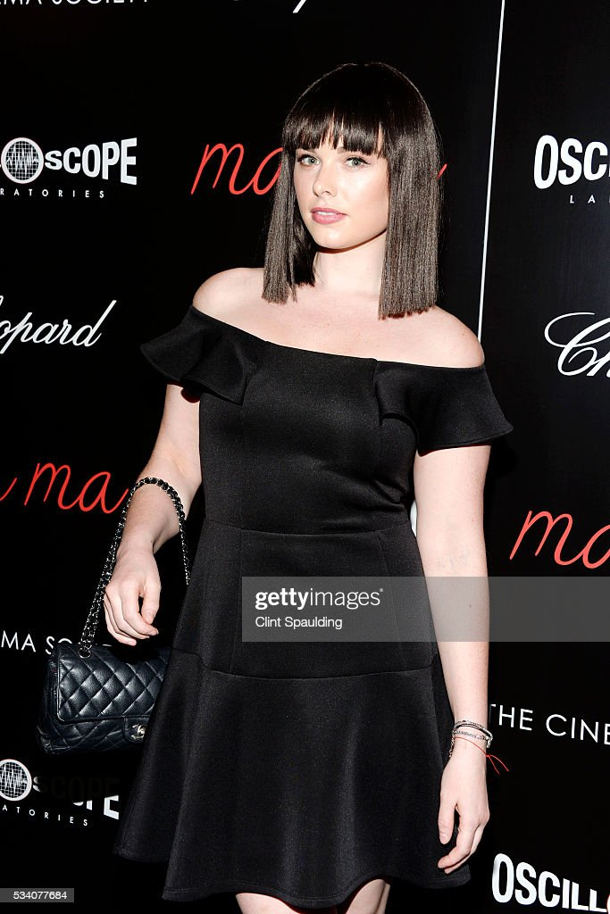 Nicole Patrick attends The Cinema Society and Chopard Host a Screening of Oscilloscope's 'ma ma' at Landmark Sunshine Theatre on May 24, 2016 in New York City.