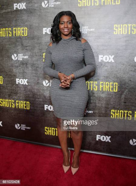 Nicole Paultre Bell attends the 'Shots Fired' New York special screening at The Paley Center for Media on March 9 2017 in New York City