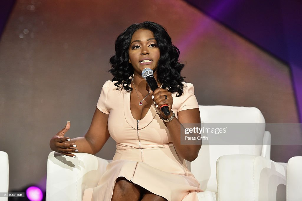 Nicole Paultre Bell speaks onstage during the Mothers Saving Our Sons panel during the 2016 ESSENCE Festival Presented By Coca-Cola at Ernest N. Morial Convention Center on July 1, 2016 in New Orleans, Louisiana.