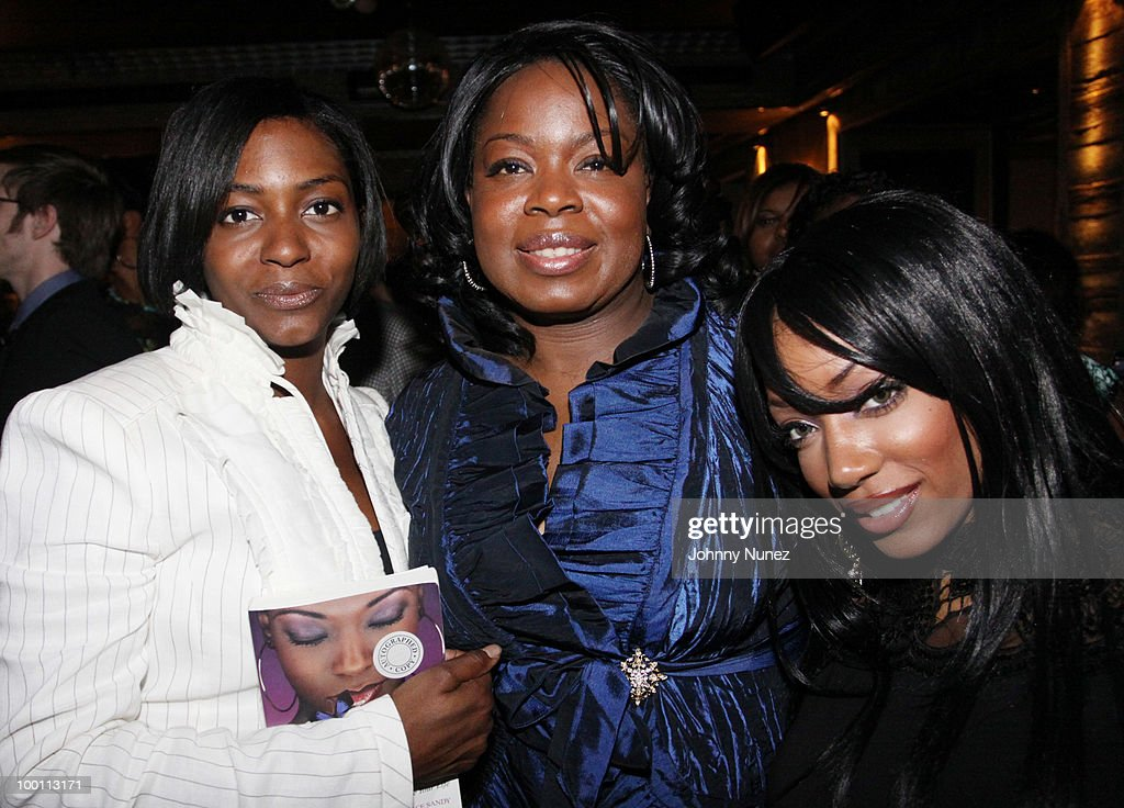 Nicole Paultre-Bell, author Candace Sandy, and model Milani Rose attend a press reception for 'Souls of My Young Sisters' at Covet on May 20, 2010 in New York City.
