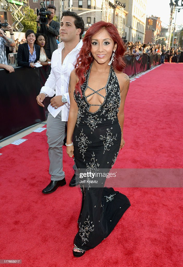 Nicole Polizzi attends the 2013 MTV Video Music Awards at the Barclays Center on August 25, 2013 in the Brooklyn borough of New York City.