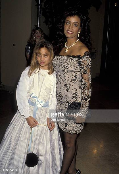 Nicole Richie and Brenda Harvey Richie during AFI Life Achievement Award Honoring Sidney Poitier at Beverly Hilton Hotel in Beverly Hills California...