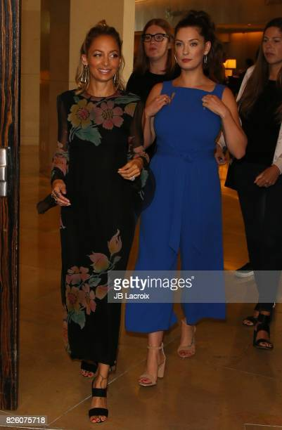 Nicole Richie and Briga Heelan attend the 2017 Summer TCA Tour 'NBCUniversal Press Tour' on August 03 2017 in Los Angeles California