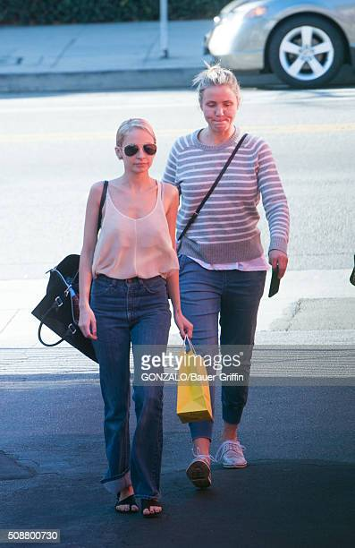 Nicole Richie and Cameron Diaz are seen on February 06 2016 in Los Angeles California