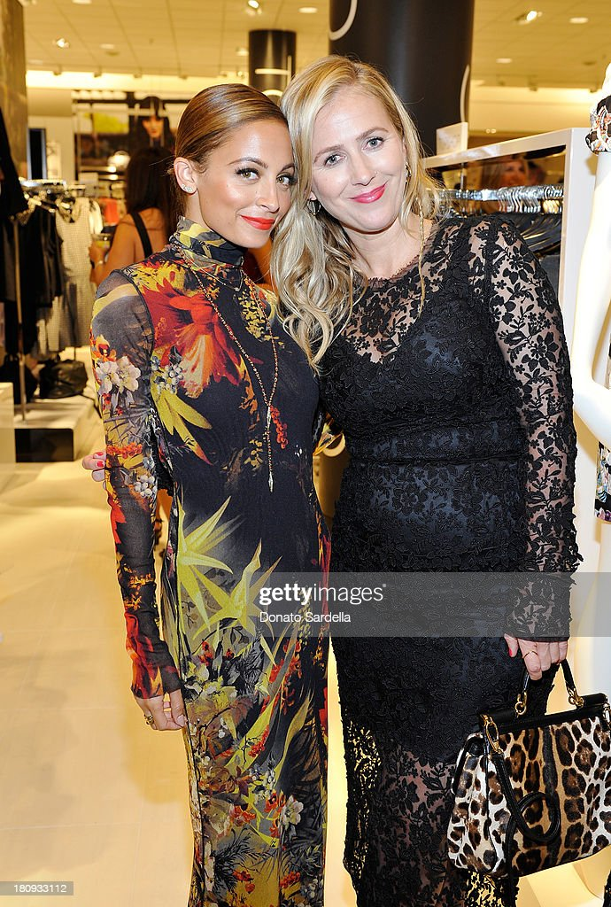Nicole Richie (L) and Cher Coulter attend Nordstrom store opening gala at The Americana at Brand on September 17, 2013 in Glendale, California.