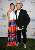 Nicole Richie and Joel Madden arrives at the 2nd Annual Baby2Baby Gala at The Book Bindery on November 9 2013 in Culver City California